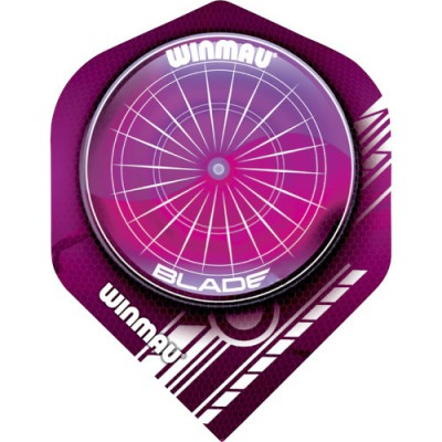 Winmau Mega Standard Flight - Blade Red