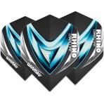 Winmau Rhino Standard Extra Thick Flight - Black Diamond