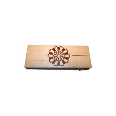 Darttasche aus Holz - Gravierbar - Ahorn