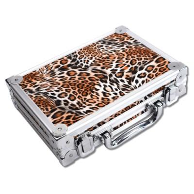 Dart Koffer Karella - Alu Case Deluxe Leopard