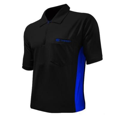Dartshirt Target Coolplay Hybrid - Schwarz/Blau