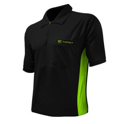 Dartshirt Target Coolplay Hybrid - Schwarz/Grün