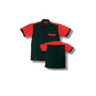 Dartshirt Bulls - Schwarz / Rot