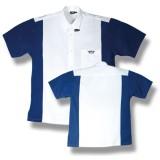 Dartshirt Bulls - Weiß / Blau
