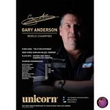 Unicorn Poster World Champion Gary Anderson