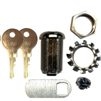 Löwen Originalsschloß für Targettür mit Schlüssel L550 (L54G)