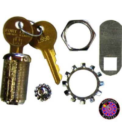 Schloß (Original) für Löwendart Targettür mit Schlüssel L550 (L54G)