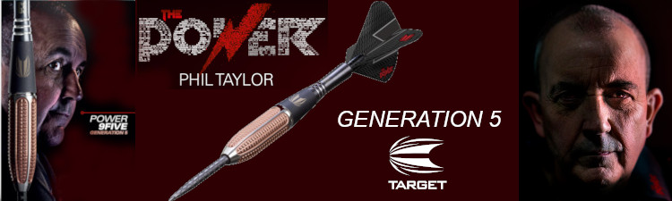 Phil Taylor 9Five Gen5
