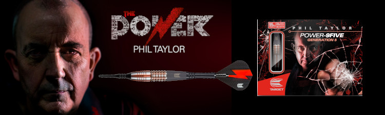 Phil Taylor 9Five Japan Gen5