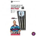 Steel Dartpfeil Set - Bulls Team Champions Darts Max Hopp