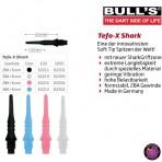 Soft Dartspitze Bulls Tefo - X Shark 2BA / 6mm