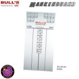 Dartboard Bulls Markerboard Eco 60x30cm