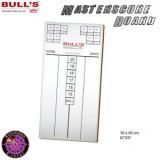 Dartboard Bulls Markerboard Masterscore 60x30cm
