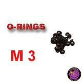 Rubber O-Ring small M3