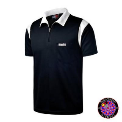 Dart Polo Shirt One80 - schwarz/weiss