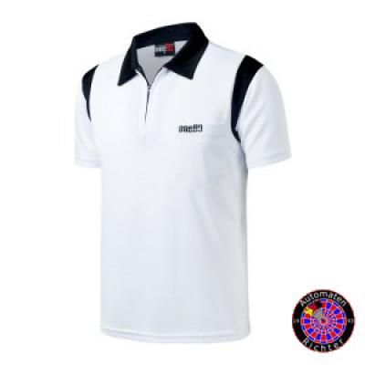 Dart Polo Shirt One80 - weiss/schwarz