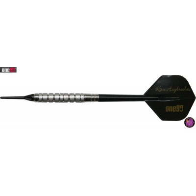 Soft Dartpfeil Set One80 - Kim Huybrechts