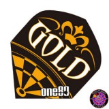 One80  Dart Flight Standard - Gold