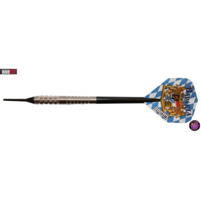 Soft Dartpfeil Set One80 - Bavaria XL