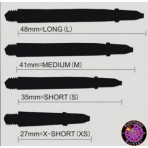 Proplast Schaft Transparent Grau, 2BA