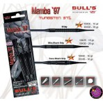 Soft Dartpfeil Set - Bulls Mamba `97 B Grip