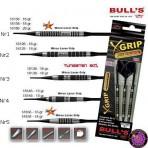 Soft Dartpfeil Set - Bulls XGrip Nr.3