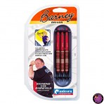 Soft Dartpfeil Set Unicorn - Barney Brass Orange