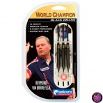 Soft Dartpfeil Set Unicorn - Black Brass Raymond van Barneveld