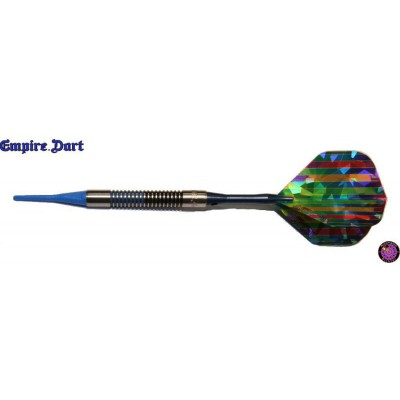 Soft Darts Dartpfeil Set - Empire Blue Valley
