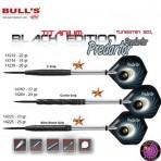 Stahl Darts Dartpfeil Set - Bulls Predartor Corrie Grip