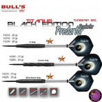Stahl Darts Dartpfeil Set - Bulls Predartor Slim-Shark Grip
