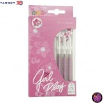 Steel Dartpfeil Set Target - Girl Play Angel