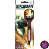 Steel Darts Dartpfeil Set One80 - Rifleman