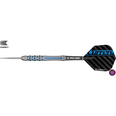 Steel Dartpfeil Set Target - Carrera Azzurri AZ02