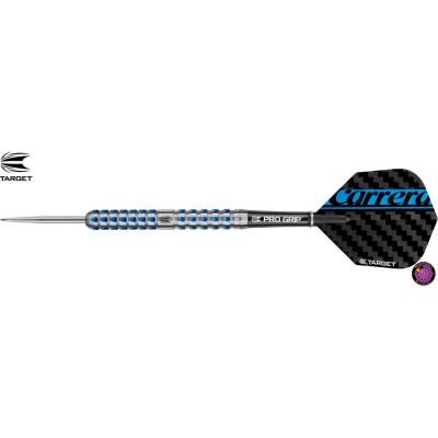 Steel Dartpfeil Set Target - Carrera Azzurri AZ03