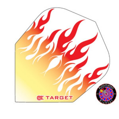 Target Vision Flight Standard Flammen - Gelb/Rot