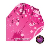 Target Pro 100 Flight Standard Oriental Flower - Pink