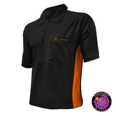 Dartshirt Target Coolplay Hybrid - Schwarz/Orange