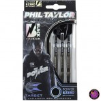 Soft Dartpfeil Set Target - Phil Taylor Power 8Zero Black Titanium