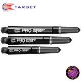 Target Pro Grip Spin Schafte - Schwarz