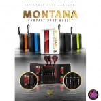 Dart Ledertasche Target Montana - Gelb