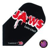 Target Pro 100 Flight Slim - Jaws Colin Lloyd