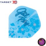 Target Pro 100 Standard Double Sided Design Girl Play - Blue