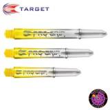 Target Pro Grip Vision Schaft - Gelb