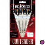 Steel Dartpfeil Set Unicorn - Contender Dimitri van den Bergh