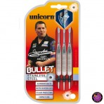 Steel Dartpfeil Set Unicorn - Bullet Stainless Steel Gary Anderson