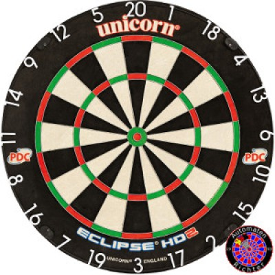 Dartboard Bristle Unicorn Eclipse Pro HD2 TV Edition