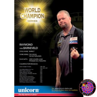 Unicorn Poster Raymond van Barneveld