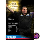 Unicorn Poster World Champion Gary Anderson