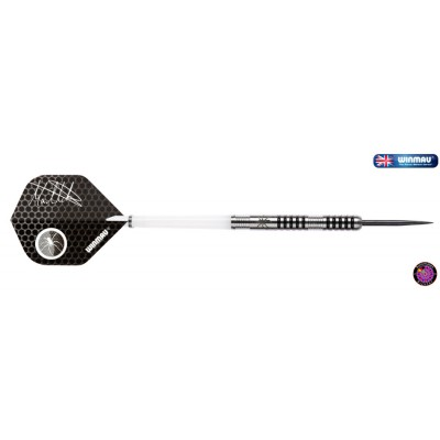 "Steel Dartpfeil Set - Winmau Mark ""Spiderman"" Webster 2014"
